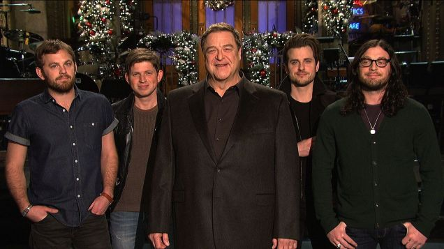 SNL John Goodman Kings of Leon